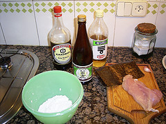 Karaage Ingredientes