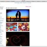 Corazón en el blog de flickr