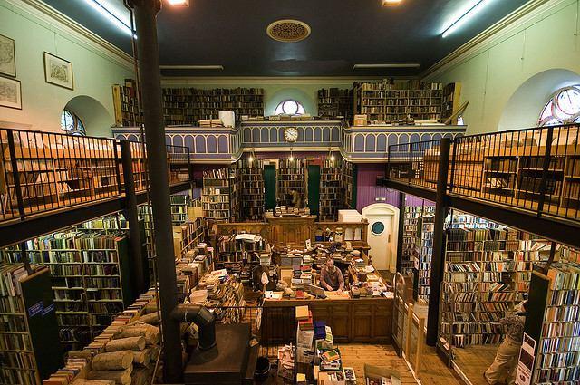 Libreria-segunda-mano_escocia_dia_7_Lluis_Ribes_Portillo
