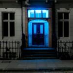 La puerta azul