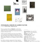 Curso de Fotografia i Edició: El llibre d'autor