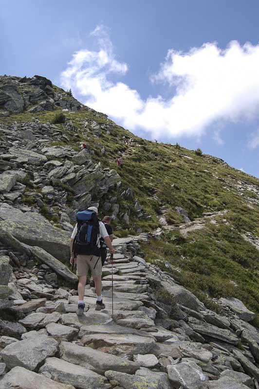 De trekking por Chamonix