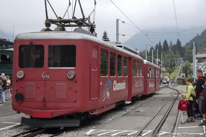 Cremallera tren Montenvers