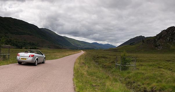 En los valles de los Highlands