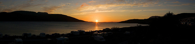 Puesta de sol en Ullapol