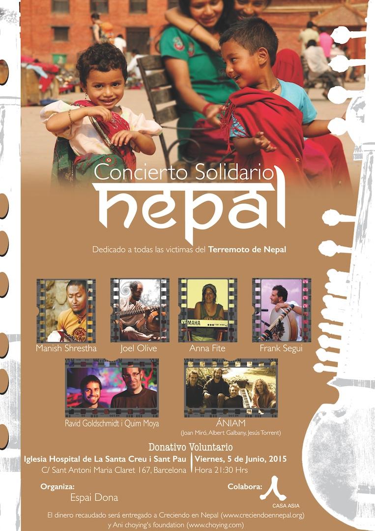Cartel_concierto_solidario_nepal